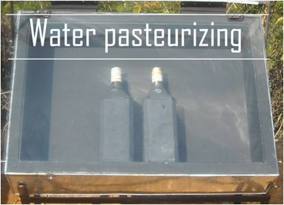 water pasteurizing FoST